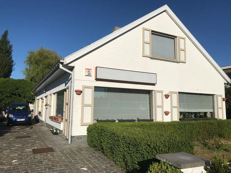 Het huis waar de homejacking plaatsvond in de Zeebruggelaan.