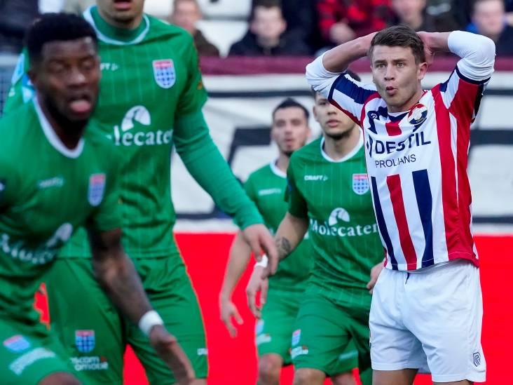 Wil Willem II winnen, dan kan het de bal het beste níét hebben