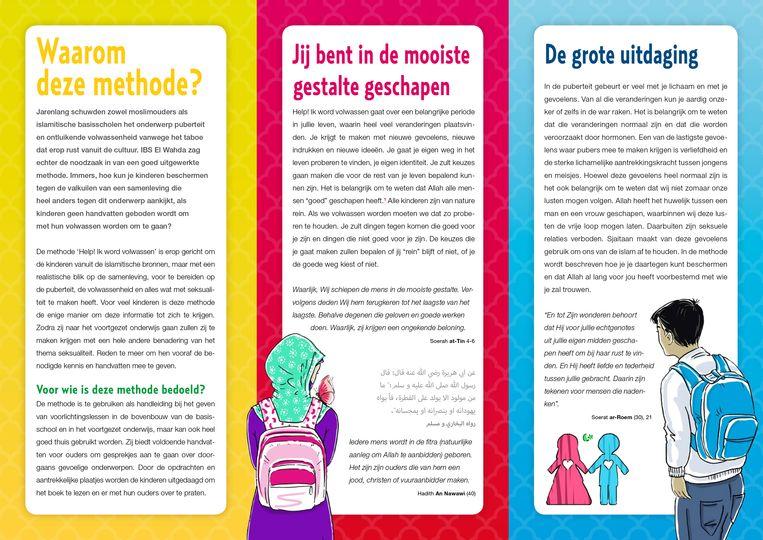 Islamitische lesmethode voor adolescenten. Beeld ISBO