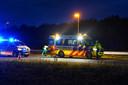 Vrijdagochtend vond er een eenzijdig ongeval plaats op de A58 bij Gilze.