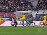Borussia Dortmund niet langs Frankfurt door late gelijkmaker
