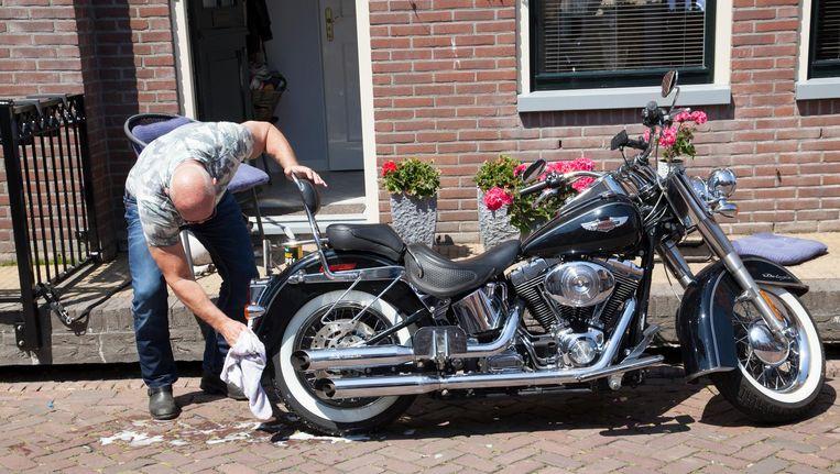Ed van Riel: 'Harley Davidsonrijders zijn niet de boosdoeners.' Beeld null