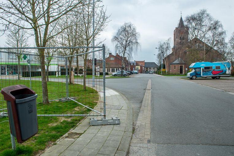 Het Sint-Hubrechtsplein straalt weinig uit nu.