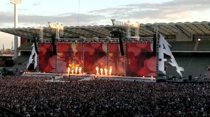 Alle handjes in de lucht voor Metallica in Brussel