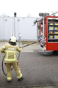 Grote brand bij Bolletje in Heerde snel onder controle