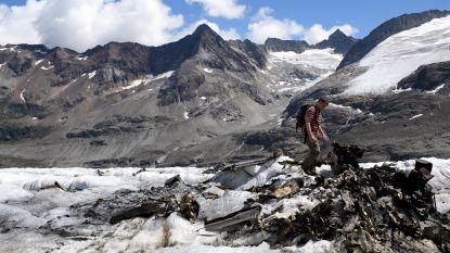 Vliegtuig uit Tweede Wereldoorlog ontdekt in gletsjer Zwitserland