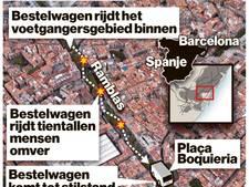 Wat we tot nu toe weten van aanslag Barcelona: 13 doden en 100 gewonden