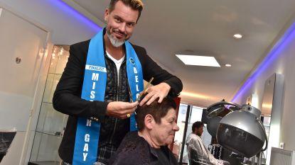 """Kapper Thierry (40) oudste finalist van Mister Gay Belgium: """"Ik heb toch mijn rugzak levenservaring mee"""""""