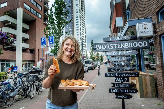 Laura de Grave: ,,In Brabant moet je natuurlijk zijn voor de worstenbroodjes.''
