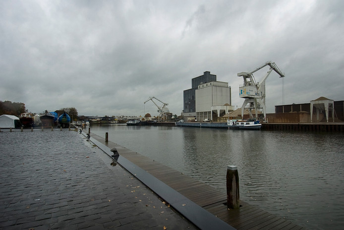 Archiefbeeld Havengebied Enschede