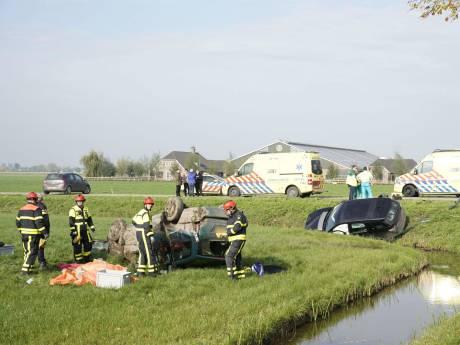 Man overleden bij ernstig ongeluk in Almkerk