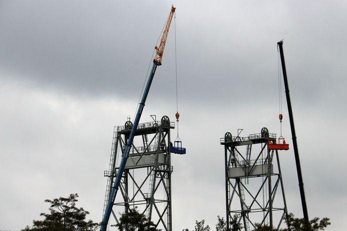 Foto ter illustratie. Eerdere werkzaamheden aan de hefbrug in Boskoop.