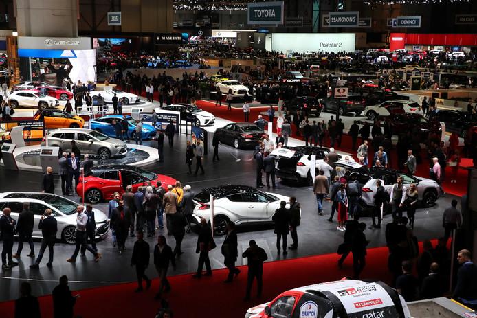 Vorig jaar werd de internationale autoshow in Genève nog druk bezocht