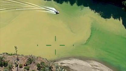 Amerikaanse rivier kleurt gevaarlijk geel door E.coli-bacterie