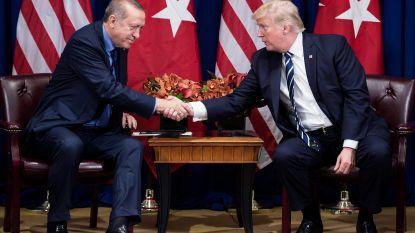 """Ankara: """"Witte Huis heeft telefoongesprek tussen Erdogan en Trump niet correct weergegeven"""""""