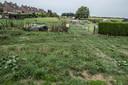 Bij volkstuinencomplex Vlashof aan de Bredeweg in Ottersum komt een honden speelveld.