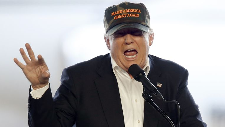 Donald Trump. Beeld null