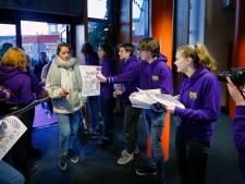 Houtense leerlingen in actie op Paarse Vrijdag: 'Iedereen mag zichzelf zijn'