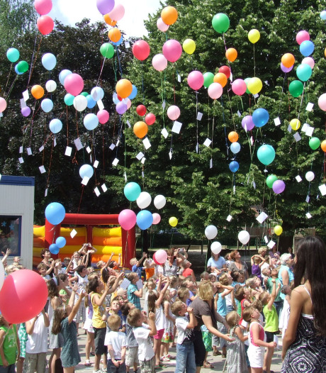 Utrechtse Heuvelrug doet ballonnen in de ban