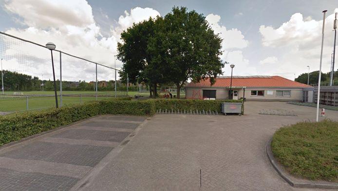 Het complex van Amsvorde aan de Leusderweg.