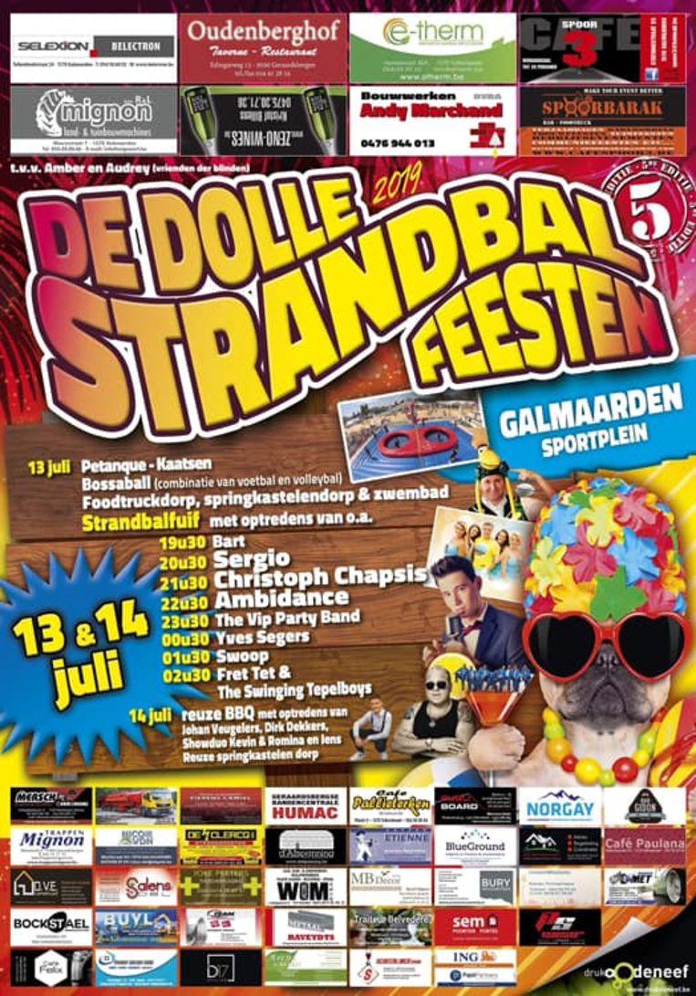 Op zaterdag 13 en zondag 14 juli vindt de vijfde editie van de Dolle Strandbalfeesten plaats.