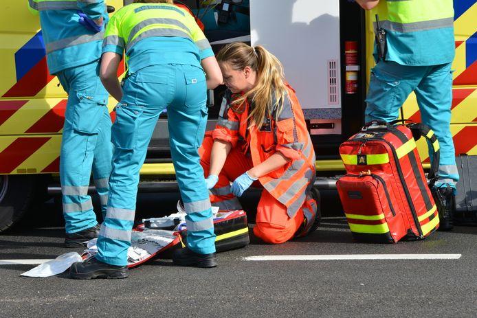 Fietser ernstig gewond na ongeval in Ulvenhout