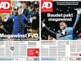 Hectisch hoogtepunt op de redactie: zo kwam deze krant op verkiezingsavond tot stand