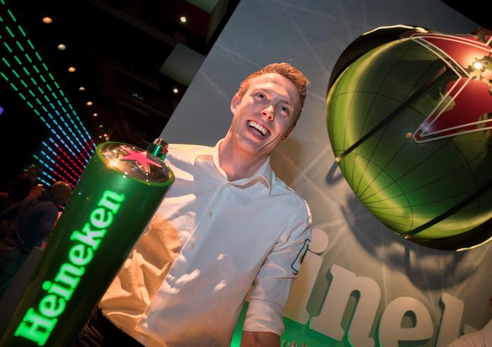 Jens Tybout uit Kampen is een van de 60 vrijwilligers van het Holland Heineken House.
