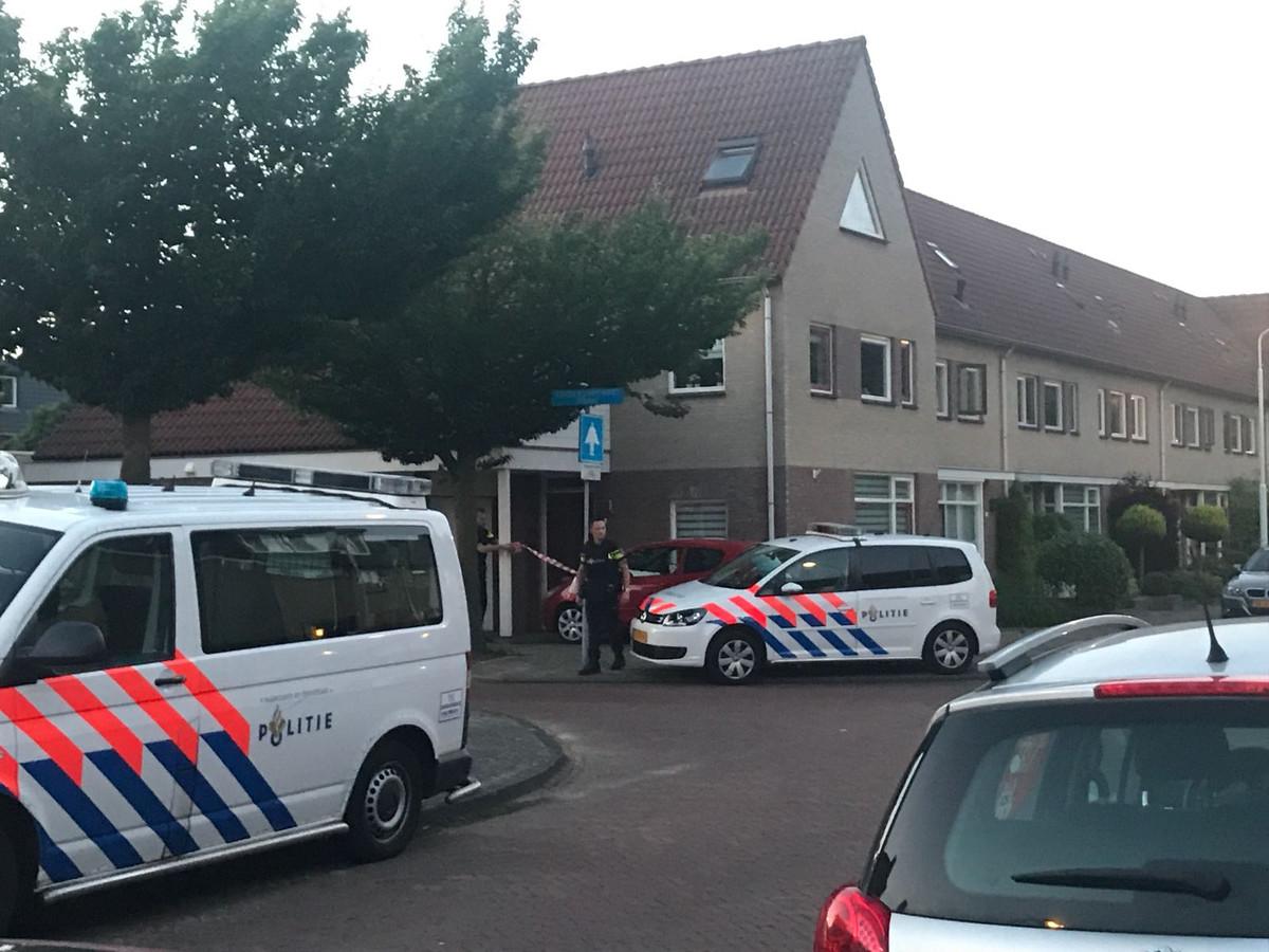 De mgr. A.F. Diepenstraat in Best is afgezet.