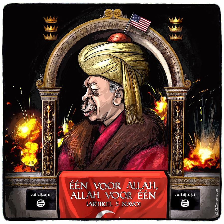 Na de eerste twee Erdoganprenten volgde nog een Sultan-Erdogan.