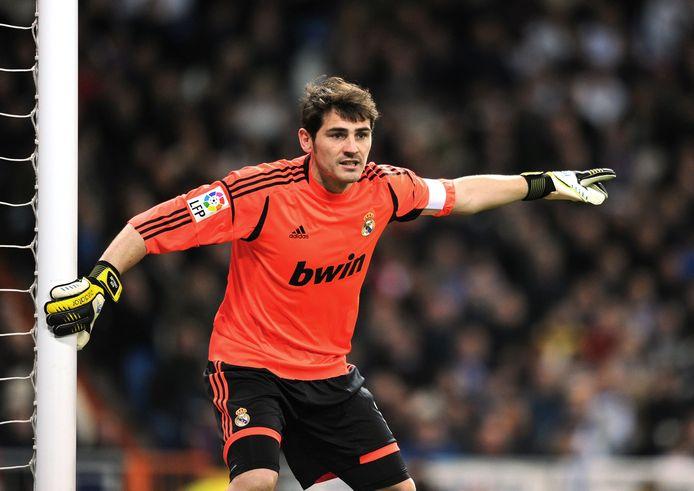 Casillas in actie voor Real.