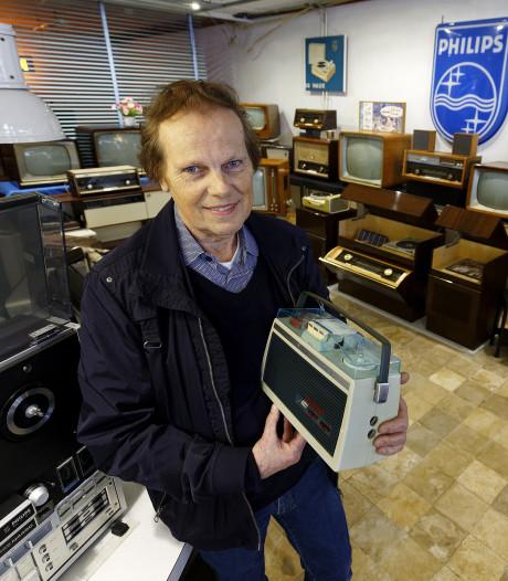 Philips-verzamelaar uit Schijndel heeft grote verzameling oude tv's en radio's: '80 procent werkt nog'