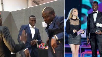 VIDEO: Pogba steelt de show op MTV-awards, al blijven zijn dansmoves wel héél uniek