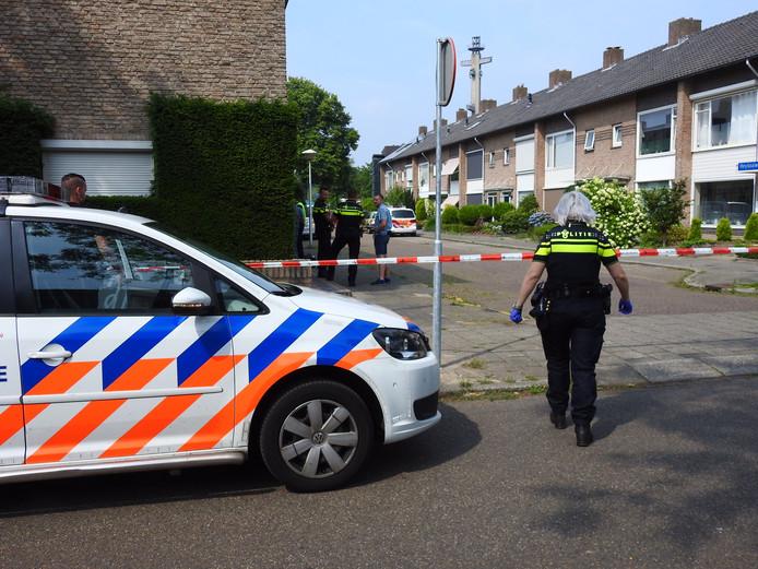 Drugslab aangetroffen in een woning aan de Heydaalweg in Eindhoven.