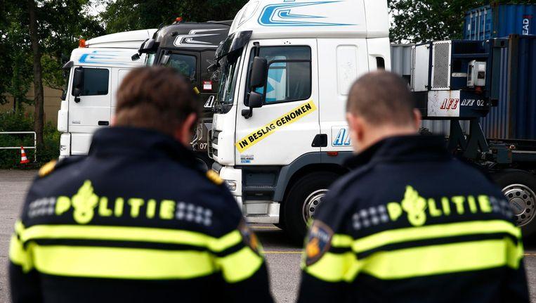 Rotterdam houdt de eigen agenten goed in de gaten. Beeld Anp