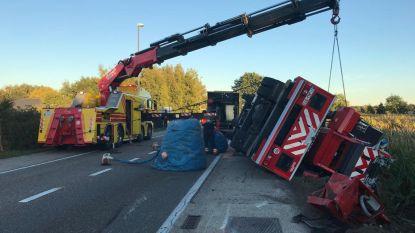 Brandweerwagen crasht met paardentrailer op weg naar schoorsteenbrand