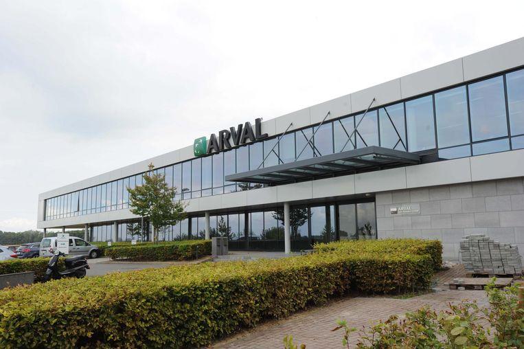 Het gebouw van Arval in de Ikaroslaan.