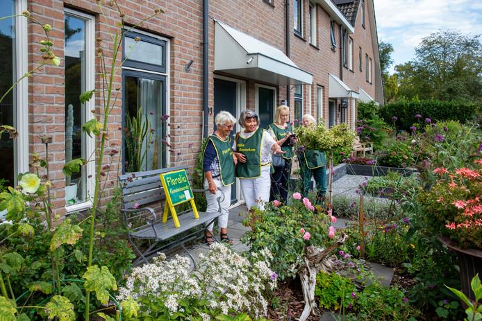 Een tuinkeuring voor Floralia.