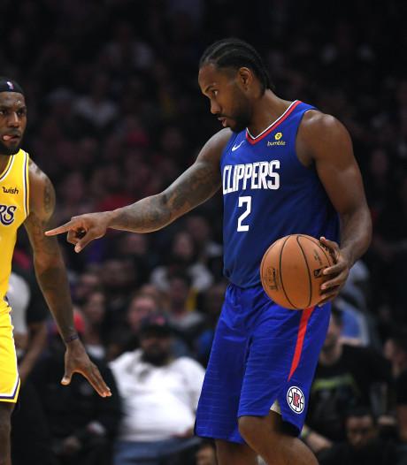 Leonard is James de baas in LA, VanVleet schittert namens Raptors