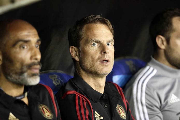 Frank de Boer als coach van Atlanta United, de regerend kampioen in de MLS.