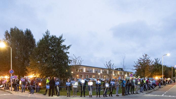 In oktober was er nog een massaal protest van Soweco-medewerkers tegen de plannen de organisatie op te doeken.