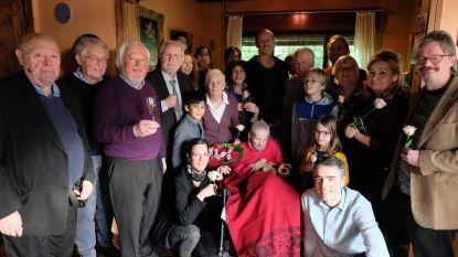 Oudste inwoner van Heist Berta viert 106de verjaardag thuis met familie