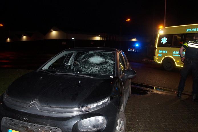 Fietser gewond na aanrijding in Waalwijk.