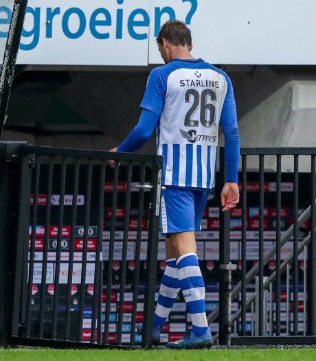 FC Eindhoven twee wedstrijden zonder Pieter Bogaers na rood tegen NEC