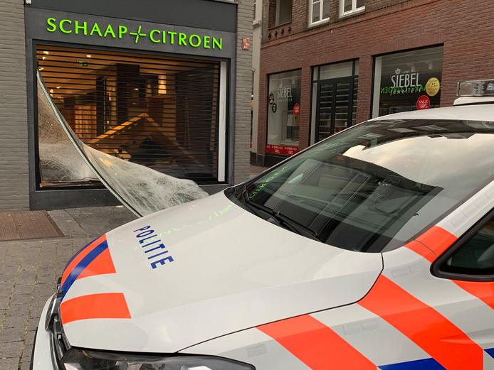 Ramkraak bij juwelier Schaap en Citroen in Den Bosch