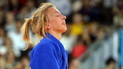 Charline Van Snick in halfuur tijd van de hemel naar de hel