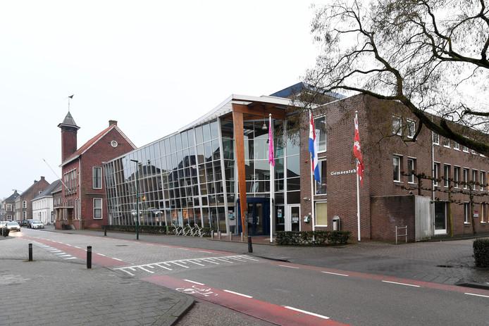 Het gemeentehuis van Dongen.