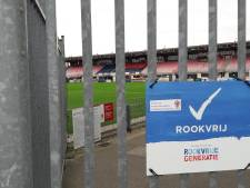 Stadion TOP Oss vanaf 1 juli rookvrij; stewards gaan toezicht houden