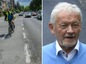 Face aux pistes cyclables qui pullulent à Bruxelles, François Bellot craint le chaos