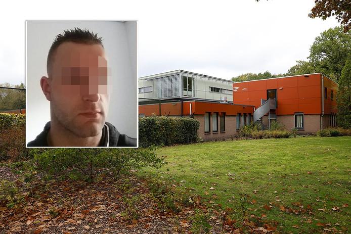 Exterieur van de kliniek FPA Utrecht. Verdachte Michael P. (inzetje) verbleef in de kliniek.